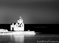 Keewaunee Light House with Reflection
